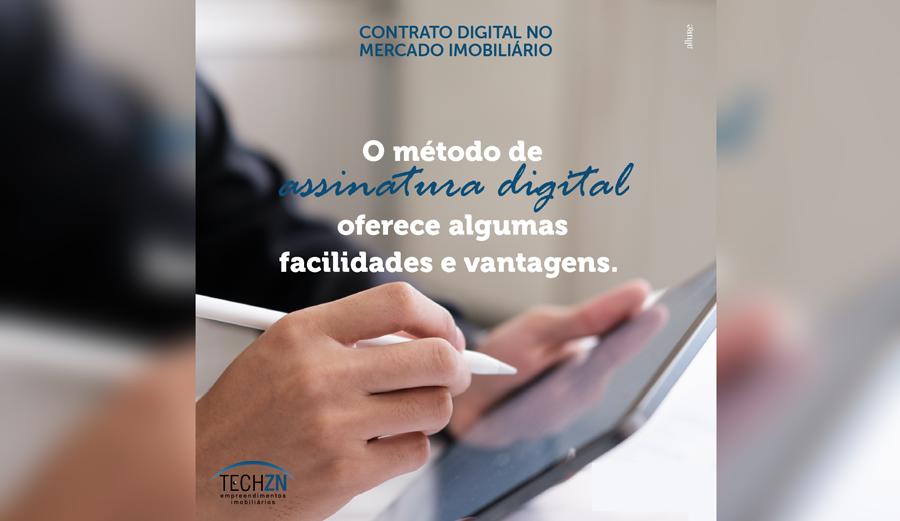 Contrato Digital no mercado imobiliário